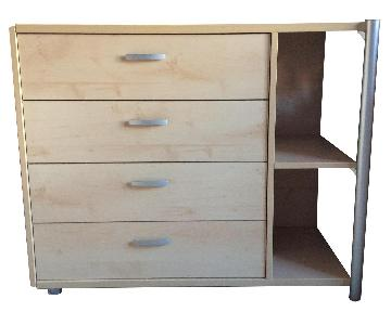 Gautier Furniture 4-Drawer/2 Shelves Chest