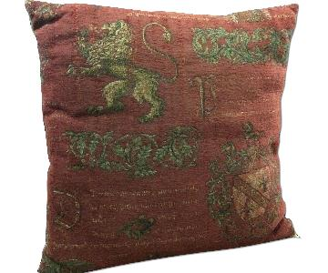 Bruge Needlepoint Pillow