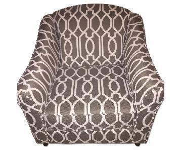 Charcoal/Slate Accent Chair