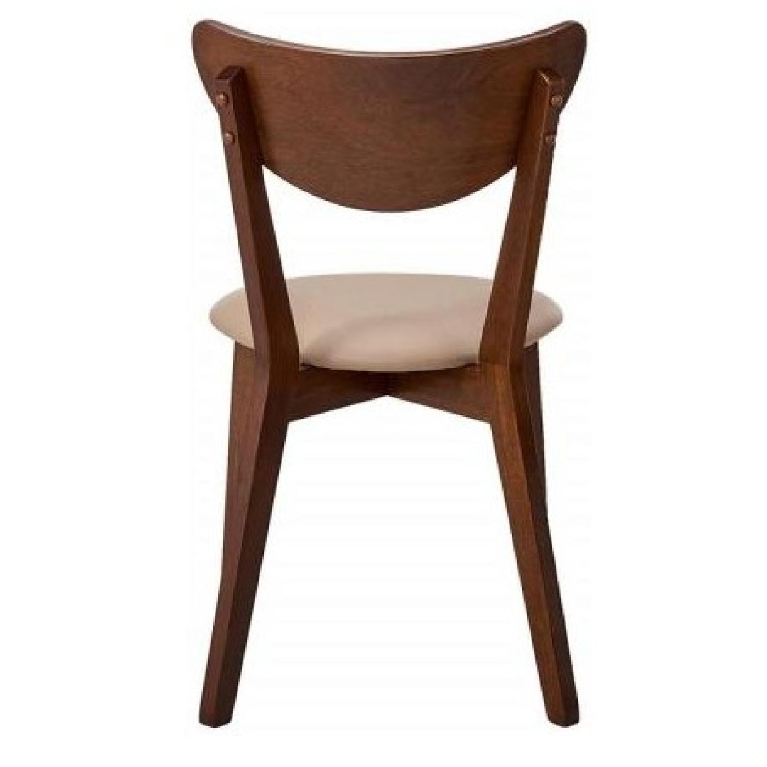 Brilliant Mid Century Retro Style Dining Chair W Curved Back In Ncnpc Chair Design For Home Ncnpcorg