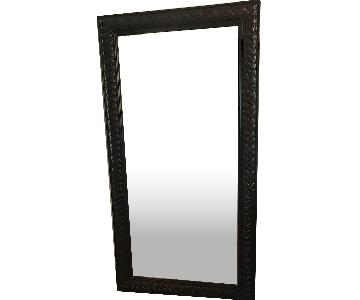 Mahogany Framed Mirror