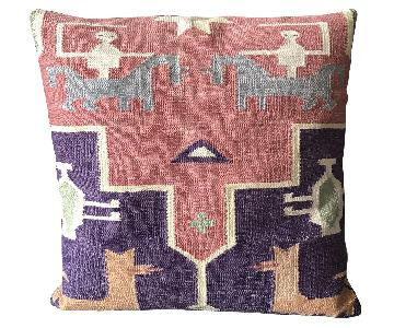 Indian Dhurrie Cushions