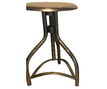 Crate & Barrel Adjustable Backless Bar Stools