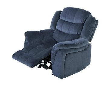 Christopher Knight Home Hawthorne Fabric Glider Recliner