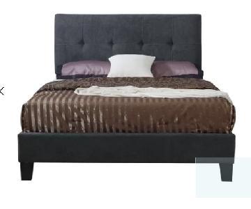 Wrought Studio Borum Upholstered Panel Bed
