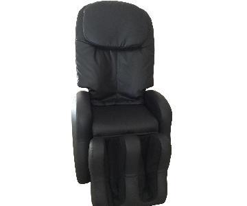 I-joy Black Microfiber Massage Chair