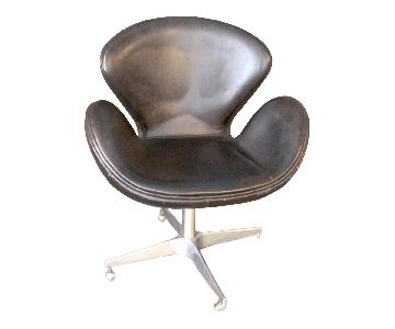 Restoration Hardware Devon Aviator Swivel Chairs