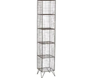 CB2 Coop Wire Tower Shelves