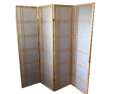 Girard 4 Panel Room Divider