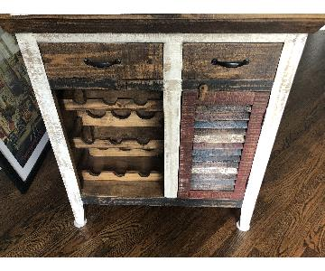 Painted Console Table/Bar