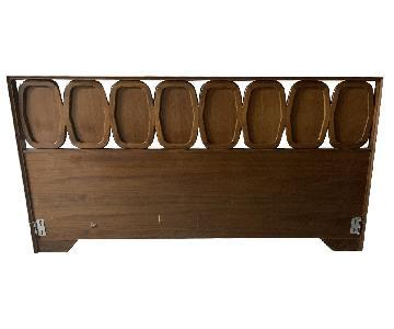 Vintage Mid Century King Headboard