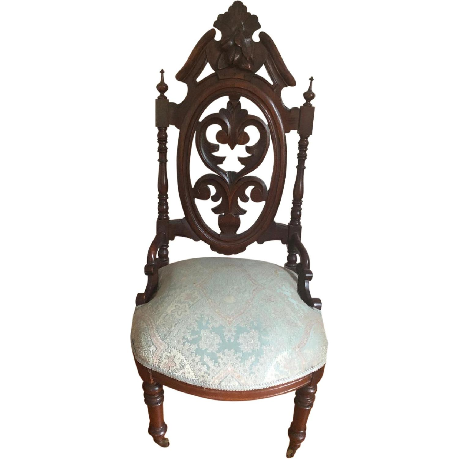 Ornate Accent Bedroom Chair