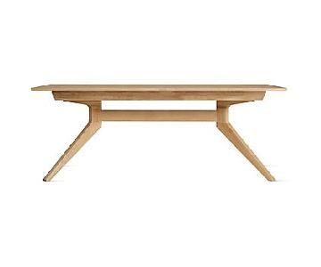 Design Within Reach Cross Extension Table in Oak