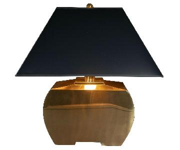 Chapman Manufacturing Vintage Brass Accent Lamp