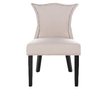 Safavieh Ciara Dining Chairs w/ Nail Head Accents