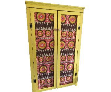 Handmade Reclaimed Wood Pantry Cabinet