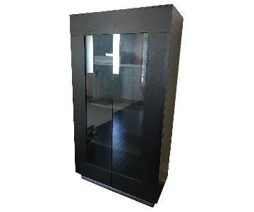BoConcept Glass Door Display Cabinet