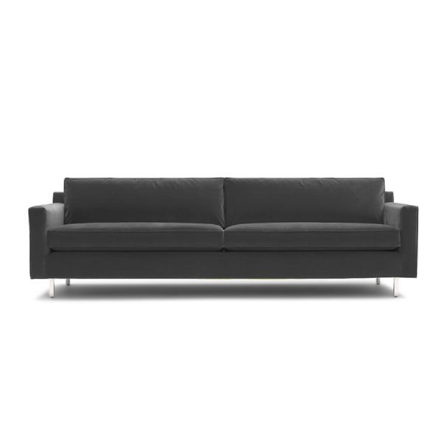 Mitchell Gold + Bob Williams Hunter Boulevard-Graphite Sofa