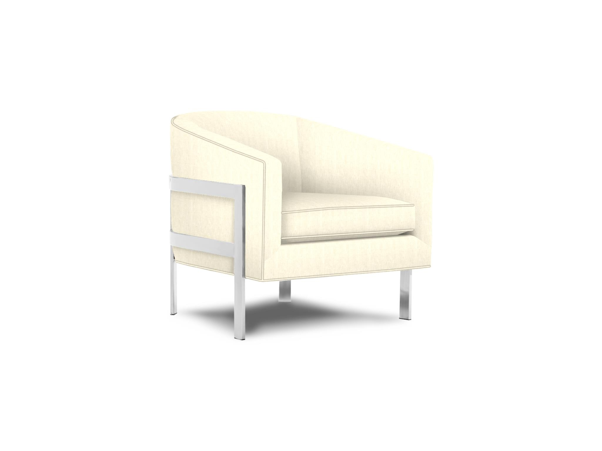 Mitchell Gold + Bob Williams Avery Chair in Chevron Natural