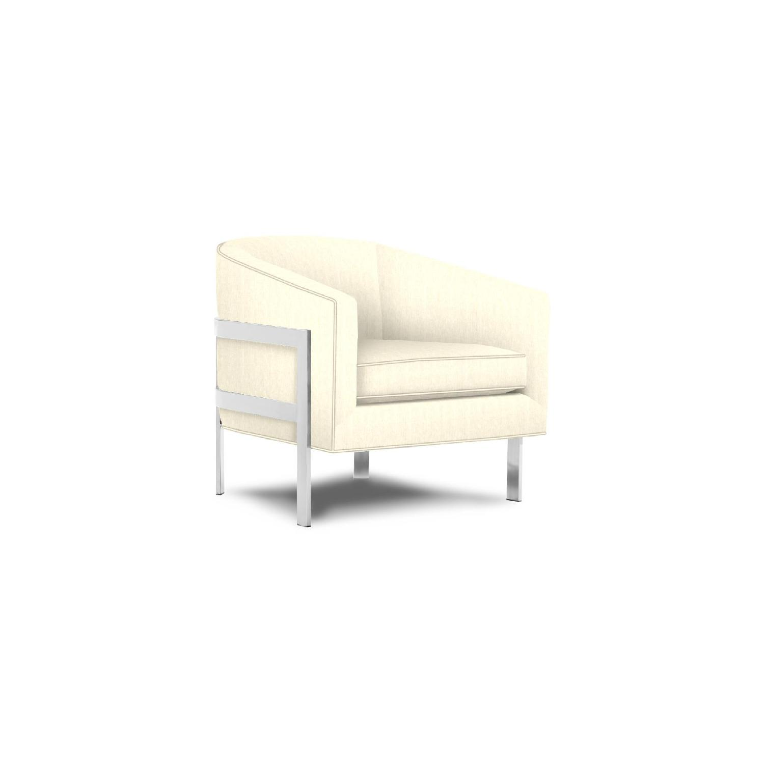 Mitchell Gold + Bob Williams Avery Chair in Chevron Natural-1