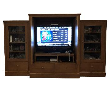 Ethan Allen TV Wall Unit