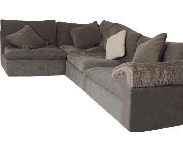 Raymour & Flanigan Calleta 3-Piece Sectional Sofa
