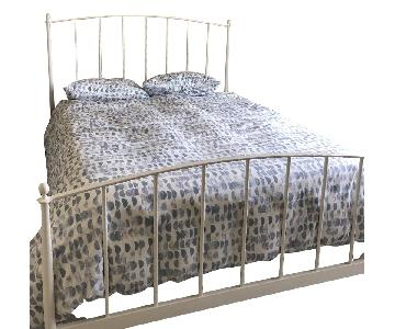 Crate & Barrel Queen Headboard & Footboard
