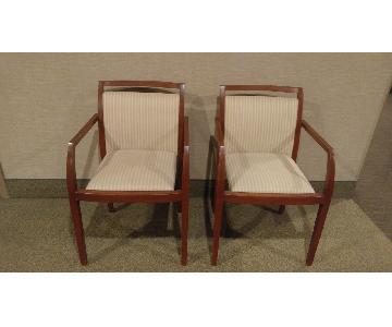 Geiger Brickel Side Chairs