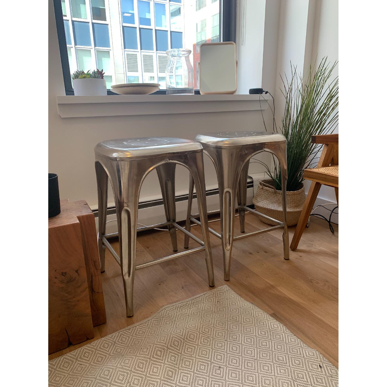 Restoration Hardware Remy Backless Counter Stools-4