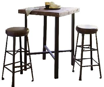 Pottery Barn Griffin Bar Table w/ 4 Stools