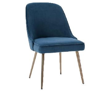 West Elm Mid Century Upholstered Dining Chair