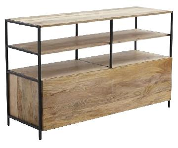 West Elm Industrial Modular Media Console 49