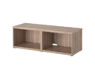 Ikea Besta Light Brown TV Stand