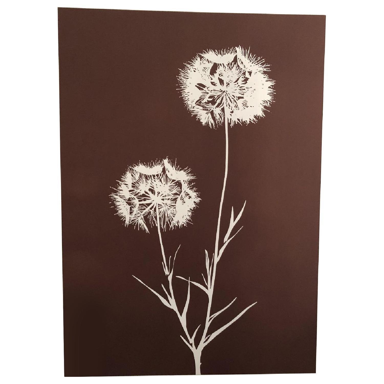 Floral Artwork Statement Piece
