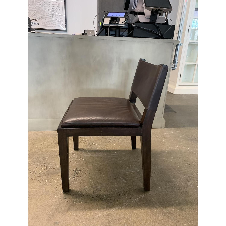 Restoration Hardware Saddle Leather Side Chair-2