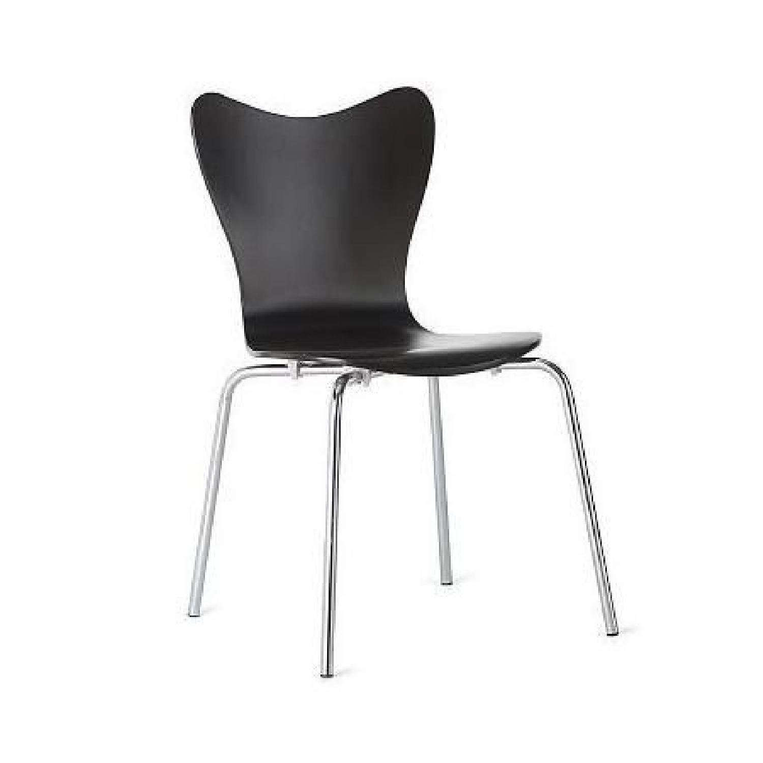West Elm Scoop Back Chairs