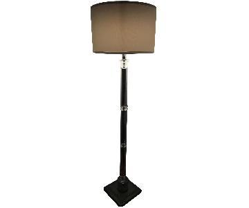 Adora Home White Crystal Floor Lamp