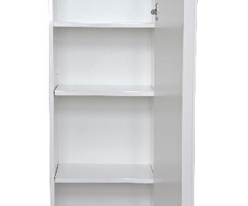 Ikea Godmorgon High Gloss White Cabinet w/ Legs