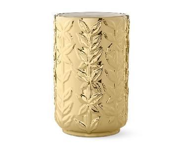 Aerin Winter Vine Ceramic Relief Vase