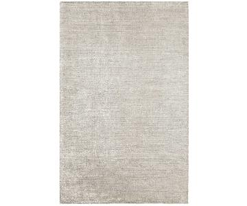 Dash & Albert Alloy Zinc Loom Knotted Bamboo Rug