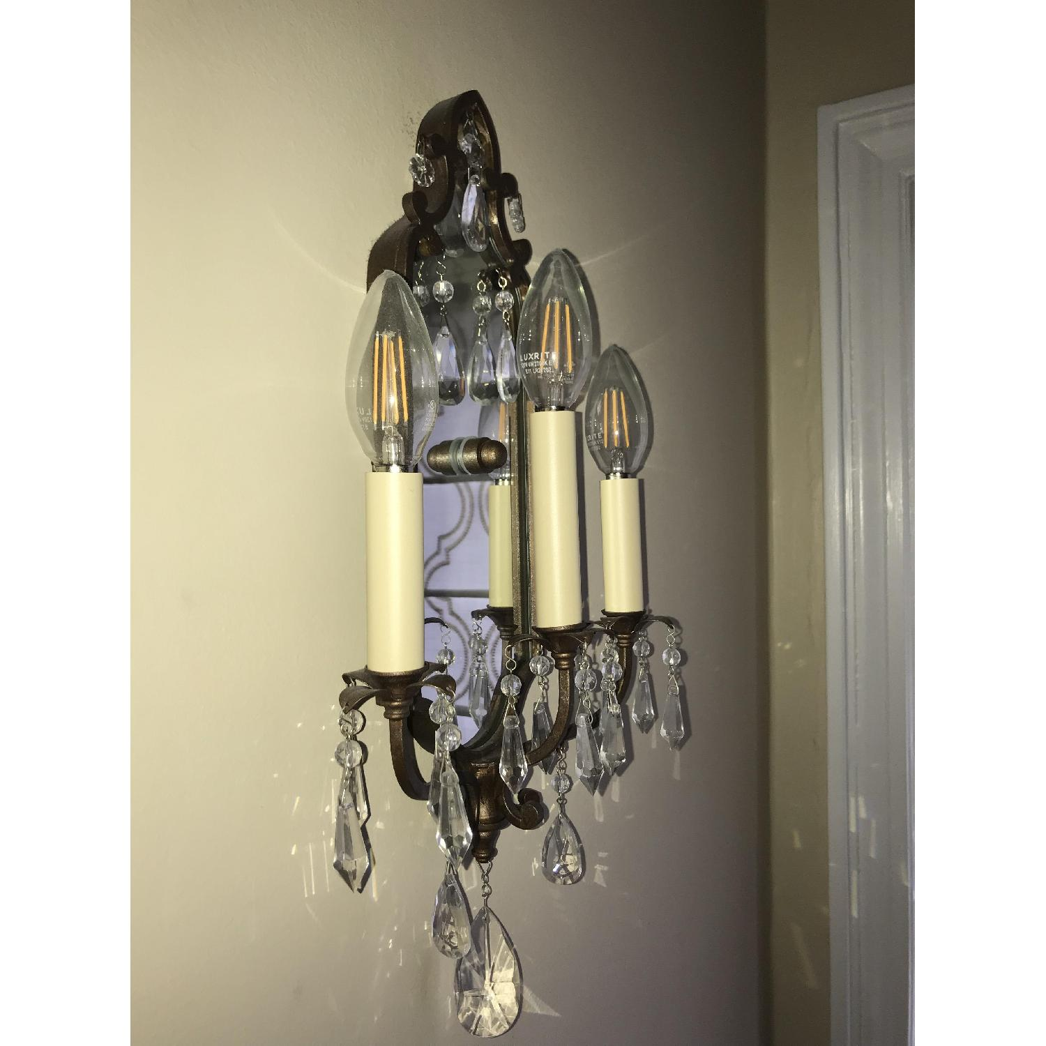 Elements Traditional Bronze Wall Sconce - image-1