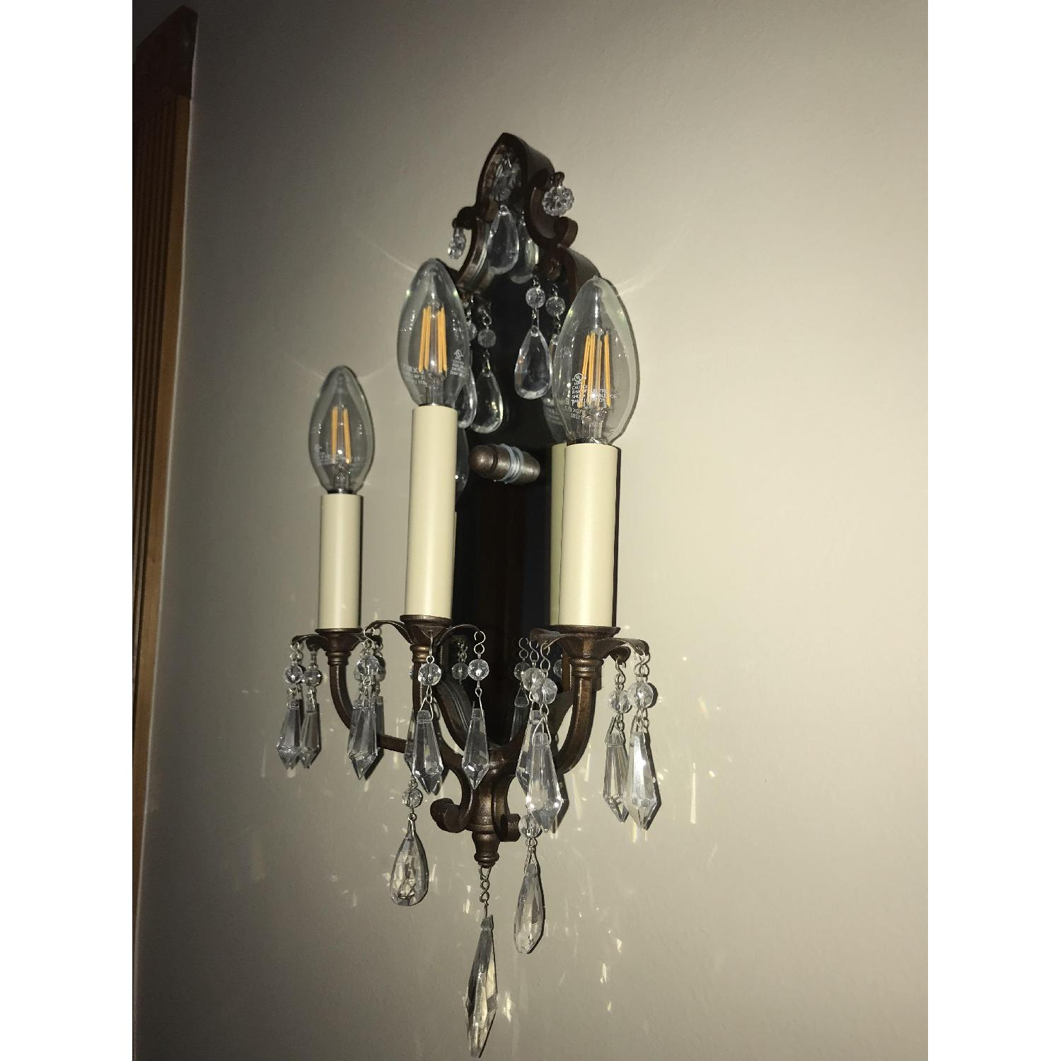Elements Traditional Bronze Wall Sconce - image-3