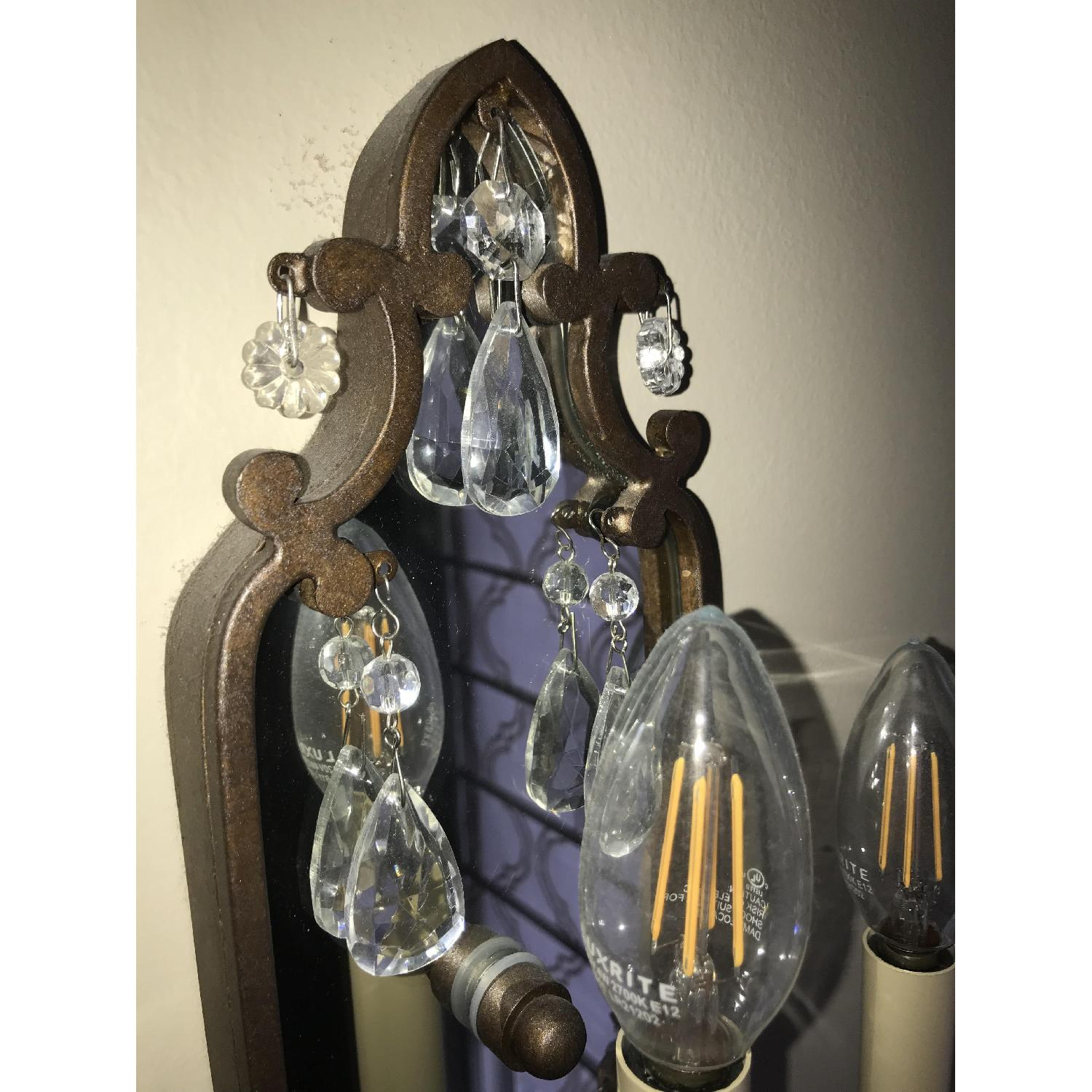 Elements Traditional Bronze Wall Sconce - image-4