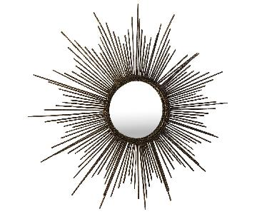 Pier 1 Sunburst Mirror
