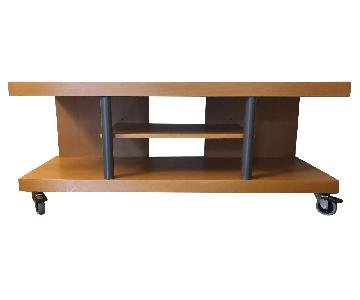 Ikea TV Stand w/ Wheels