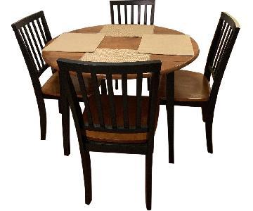 Bob's Modern 5 Piece Round Dining Set