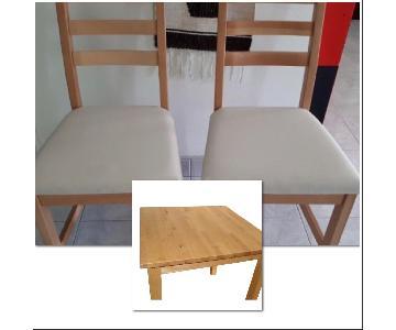 Ikea 3-Piece Dining Set