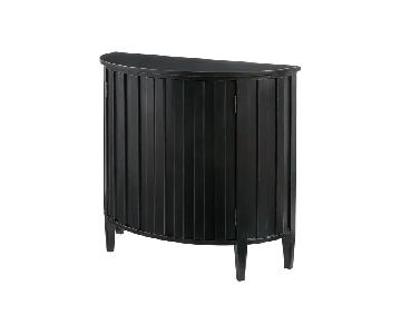 Birch Lane Black Quin 2 Door Cabinet