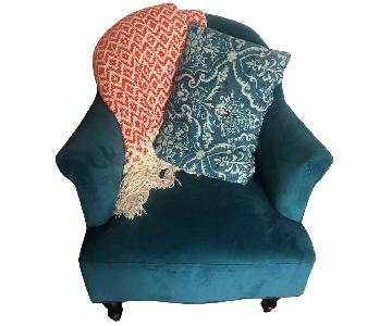 World Market Peacock Accent Chair