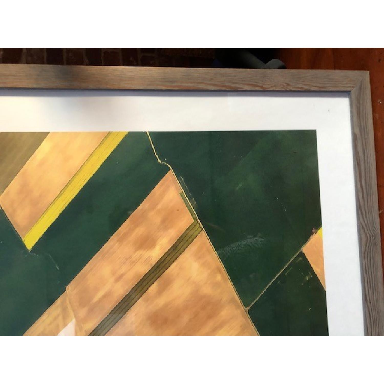 Crate & Barrel Approaching Paris Art Piece-0